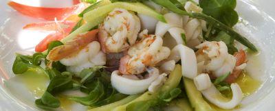 insalata di mare con verdure ricetta