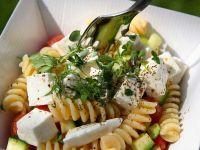 insalata di pasta con acciuga e pomodorini ricetta Sale&Pepe