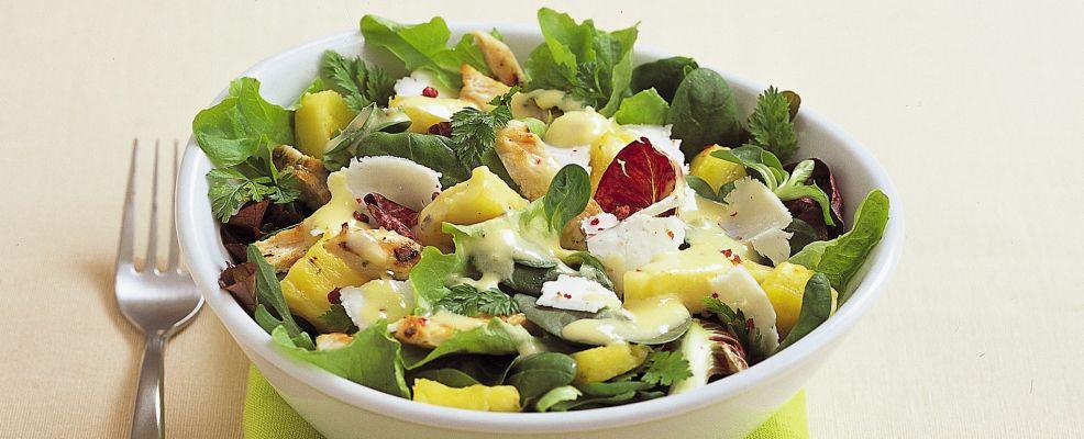 insalata di pollo agrodolce ricetta Sale&Pepe