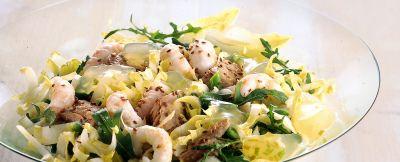 insalata di scampi al limone ricetta