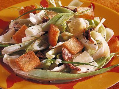 insalata di puntarelle ricetta