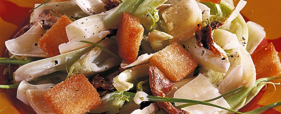 insalata di puntarelle Sale&Pepe ricetta