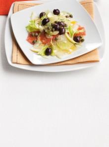 Insalatina di agrumi misti e olive nere