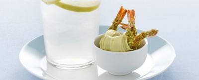 involtini-di-gamberi-ai-pistacchi ricetta