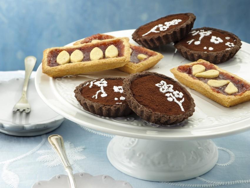 frolla al cioccolato per le crostatine fiorite Sale&Pepe