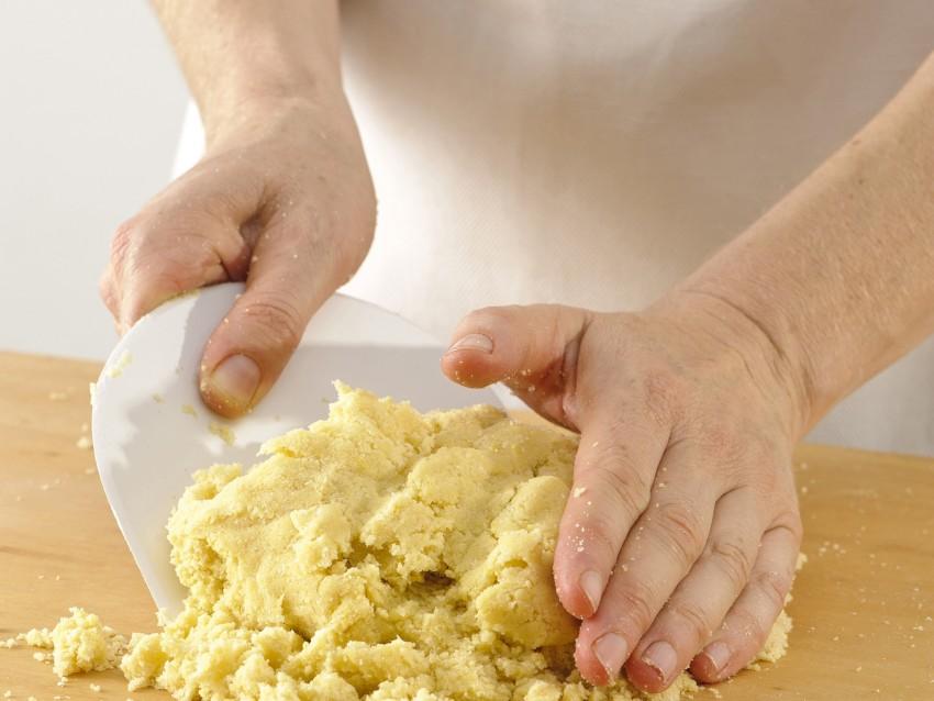 frolla alle mandorle per le tartellette con la confettura Sale&Pepe