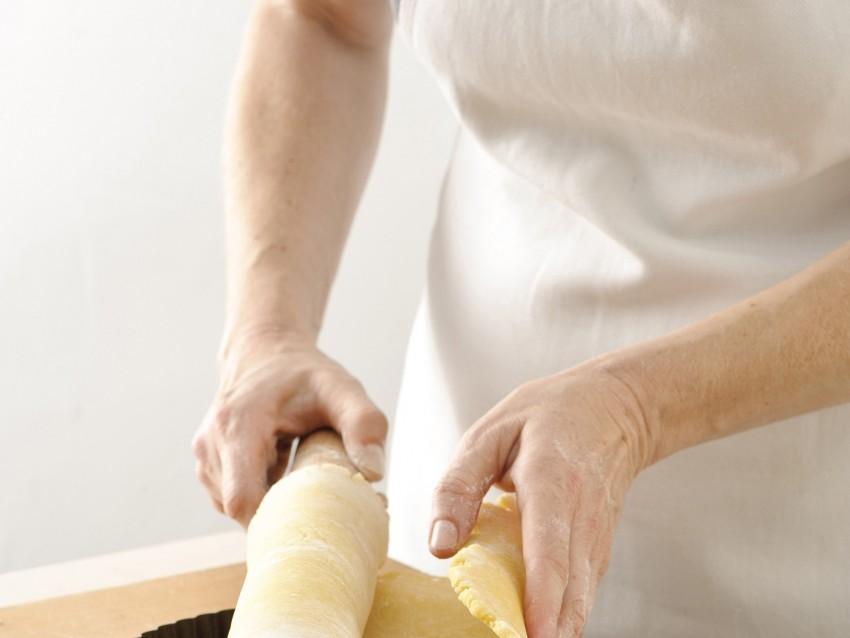 pasta base e cottura della crostata Sale&Pepe immagine