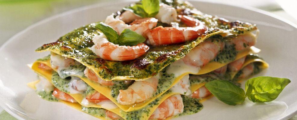 lasagne ai gamberi Sale&Pepe ricetta