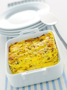 Le lasagne al ragù bianco di scorfano