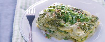 lasagne arricchite ricetta