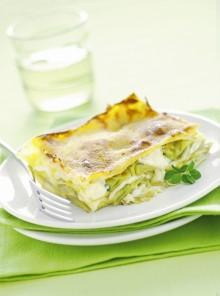 Lasagne con carciofi e salsa Mornay