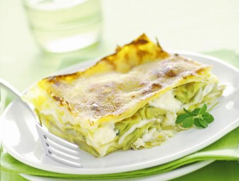 lasagne con carciofi e salsa Mornay Sale&Pepe