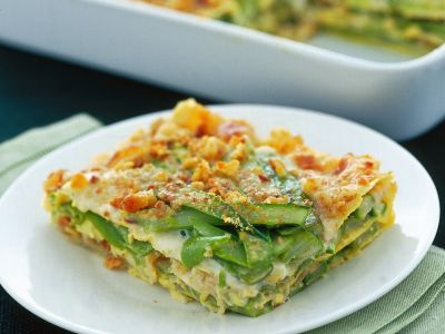 lasagne con crescenza e scagliette di noci ricetta