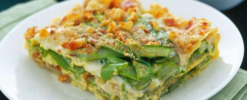 lasagne con crescenza e scagliette di noci Sale&Pepe ricetta