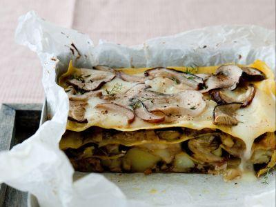 lasagne con patate e taleggio ricetta