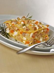Le lasagne con ragù bianco