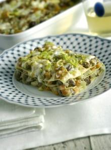Le lasagne con ragù d'anatra e patè