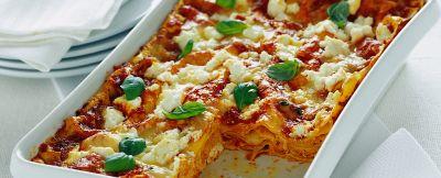 lasagne con ricotta e provola affumicata Sale&Pepe