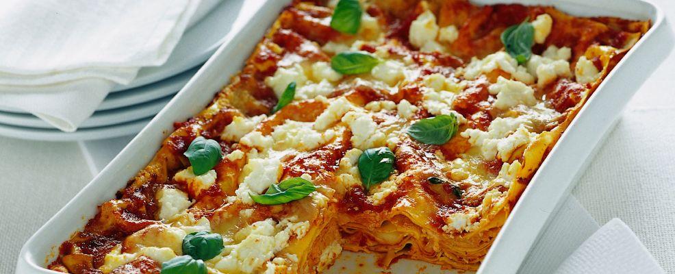 lasagne con ricotta e provola affumicata ricetta