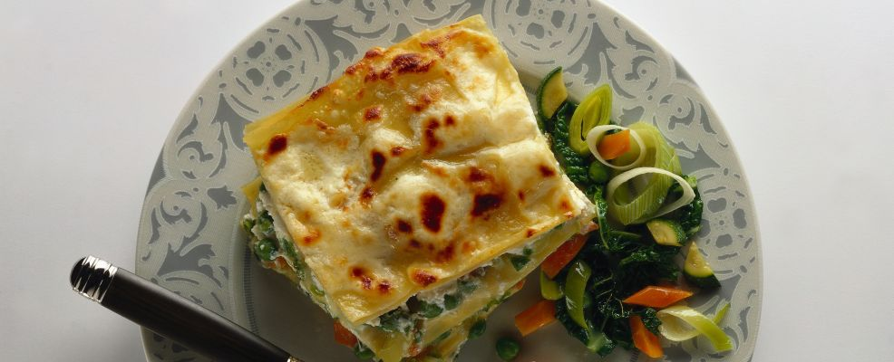 lasagne vegetariane