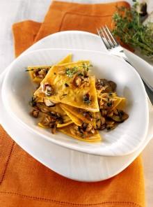 Lasagnette ai funghi porcini