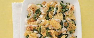 Ricetta lasagnette rucola e fonduta