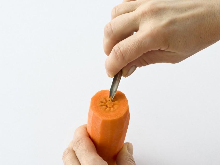margherite-di-carota ricetta