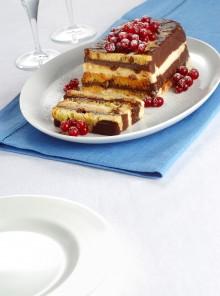 La mattonella al ribes con vaniglia e cioccolato
