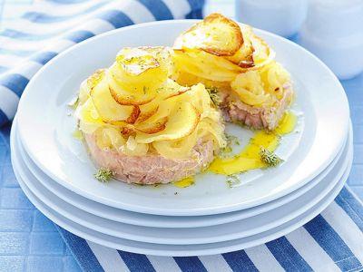 medaglioni-di-tonno-al-forno-con-patate ricetta