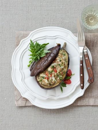 melanzane con carne, crescione e provolone piccante Sale&Pepe ricetta