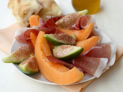 melone prosciutto e fichi