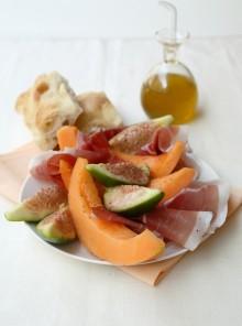 Melone, prosciutto e fichi