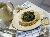 migliaccio-con-verdure-di-campo ricetta