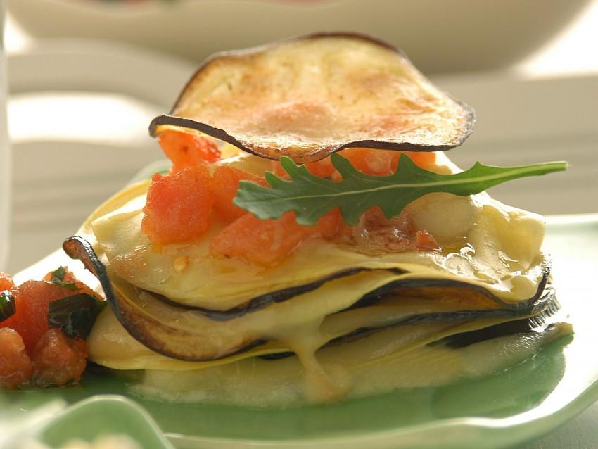 millefoglie-alle-melanzane ricetta