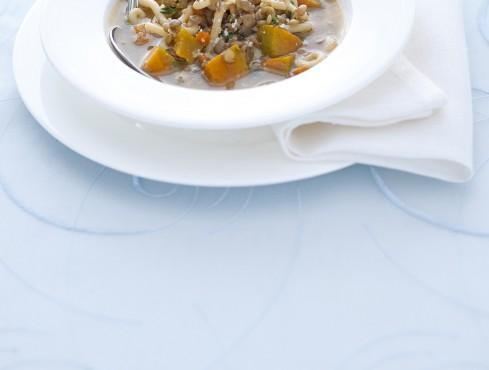 minestra-di-gramigna-e-zucca-al-timo