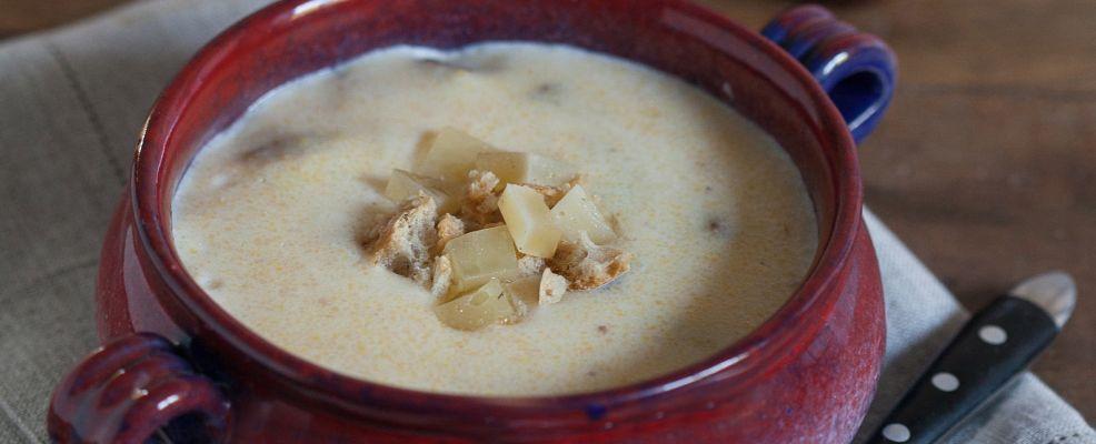 minestra di mais e castagne Sale&Pepe