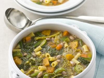 minestrone-con-verdure-fagioli-e-ditalini immagine