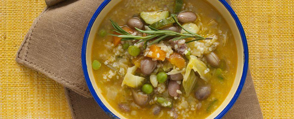 minestrone estivo di bulgur al bacon Sale&Pepe ricetta