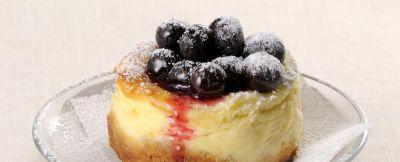 mini cheesecake ai mirtilli ricetta