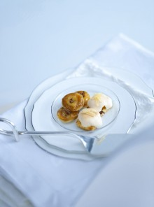 Le mini tatin di banana con cioccolato