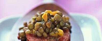 minicotechino-e-lenticchie ricetta