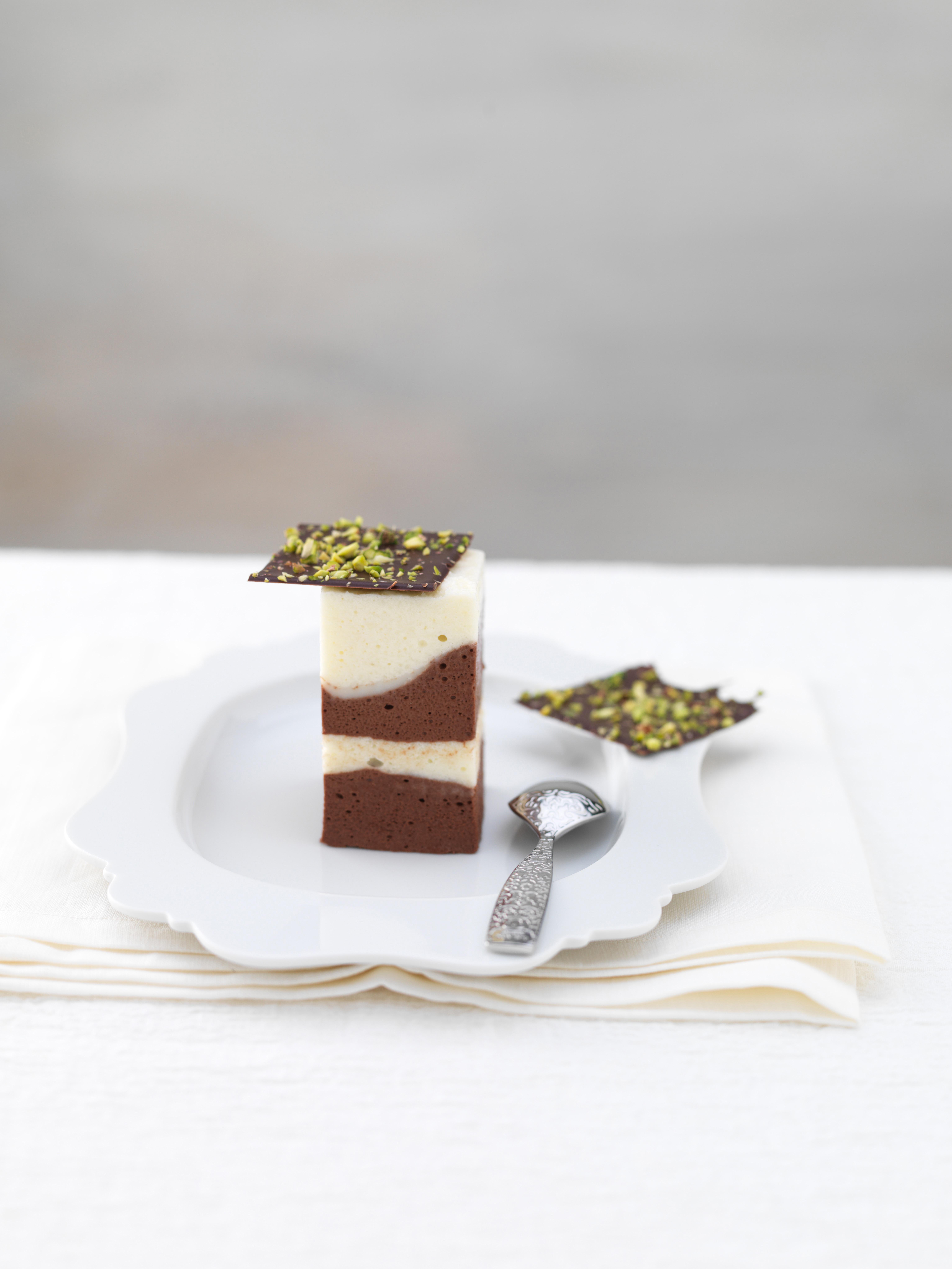 mousse ai 2 cioccolati ricetta