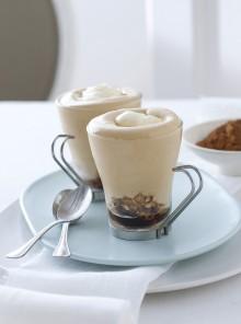 La mousse di caffè con spuma al mascarpone