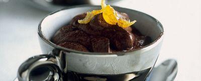 mousse di cioccolato amaro ricetta