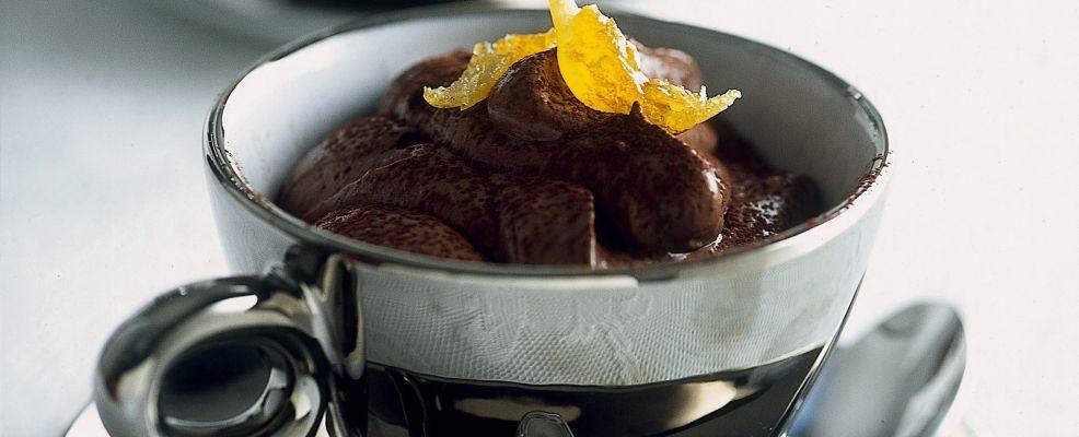 mousse di cioccolato amaro Sale&Pepe ricetta
