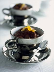 Mousse di cioccolato amaro
