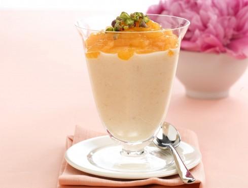 mousse-meringata-di-albicocche ricetta