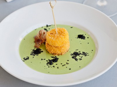 mozzarella al cuscus