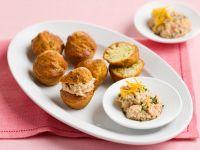 muffin-al-tonno-e-pistacchi-con-mousse-di-branzino