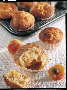 I muffin alle albicocche